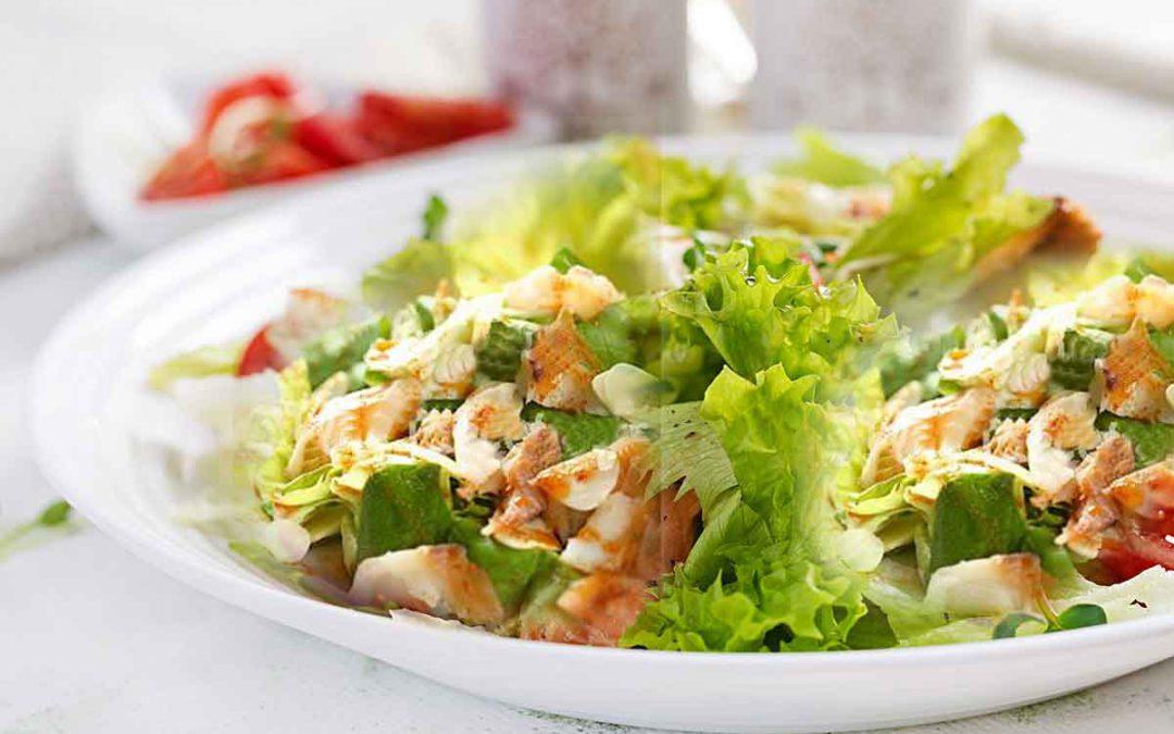 Ketojenik Morina Salatası