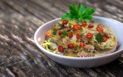 Ton Balıklı Biberli Omlet