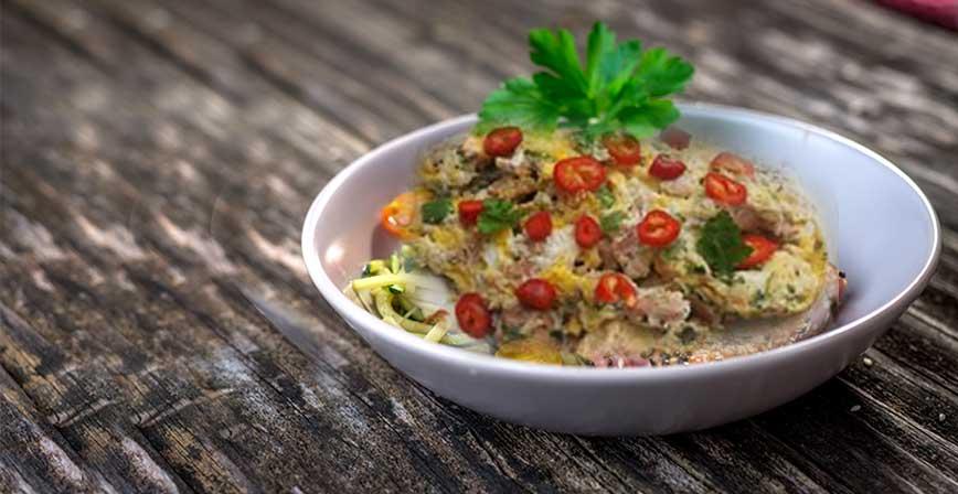 Ton Balıklı Biberli Omlet Tarifi