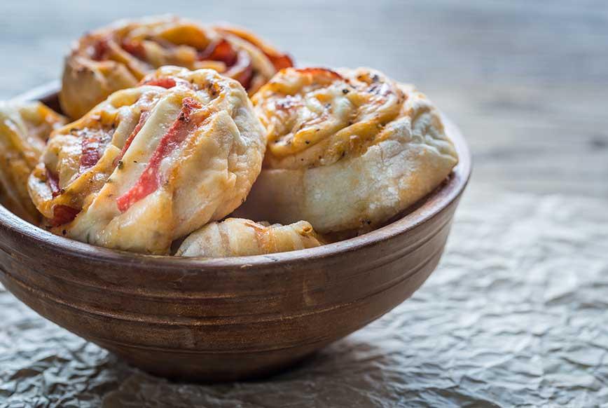 Keto Rulo Pizza Tarifi, Ketojenik yemek