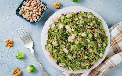 Ton Balıklı Brüksel Lahanası Salatası (Keto)