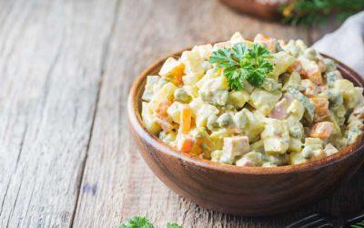 Ketojenik Rus Salatası