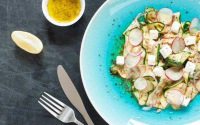 Keto Kabak Salatası